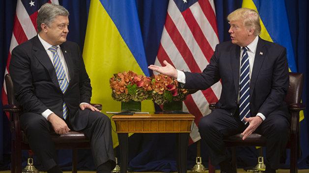 Юрист  получил практически  полмиллиона долларов за компанию  встречи Трампа иПорошенко