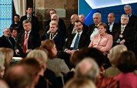 Эксперт: Встреча с Порошенко стала малозначительным событием для Меркель и Макрона