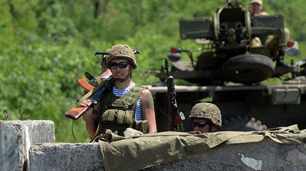 В нарушение Минских соглашений Киев захватил населенный пункт в «серой зоне»