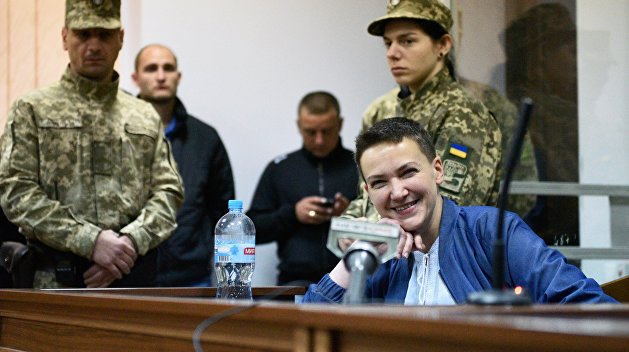 Савченко призналась, что у нее нет денег на адвоката