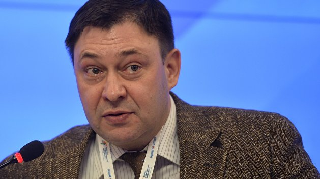 Руководителя РИА Новости Украина Кирилла Вышинского этапируют в Херсон