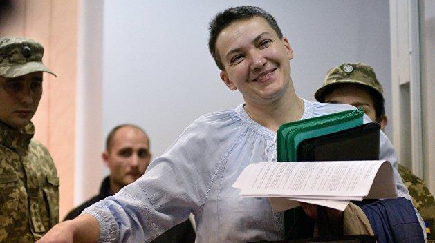 Из СИЗО в Раду: Савченко хочет работать депутатом под конвоем