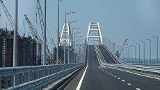 В железнодорожной части Крымского моста установлена последняя свая