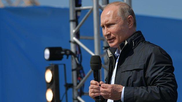 «Взгляд»: Путин на Крымском мосту объявил о чуде