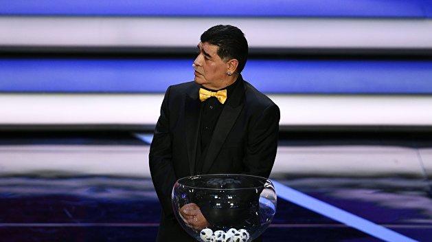 Марадона будет три года держать