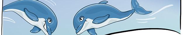 Приключения украинских боевых дельфинов в России