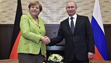 «Поскорее договориться с Россией»: что будет обсуждаться на переговорах Путина и Меркель в Сочи — RT
