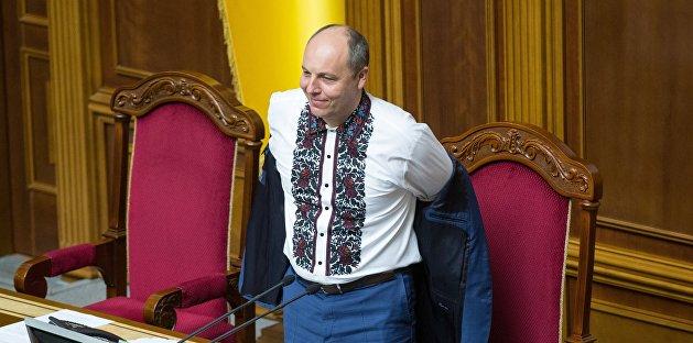 Парубий заставил депутата Верховной Рады перейти с русского на украинский язык