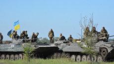 ЛНР: Концентрация украинской военной техники у линии разграничения увеличилась