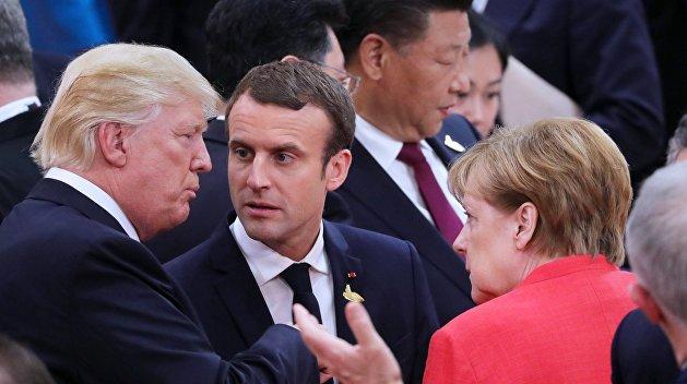 Трамп толкает Европу в объятия России