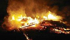 В Житомирской области сгорела православная церковь