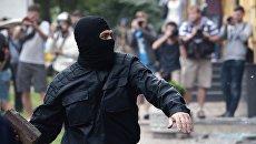 С любовью к пенсионерам: националисты напомнили кавказцам, кто на Украине хозяин