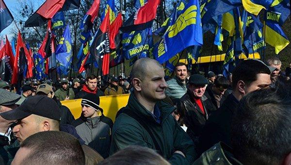 Националисты на госсодержании стали вызывать раздражение СМИ и полиции