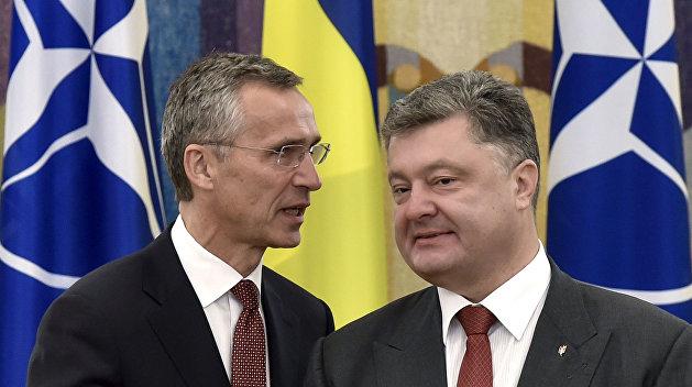 Свершилось: Столтенберг приглашает Порошенко на саммит НАТО