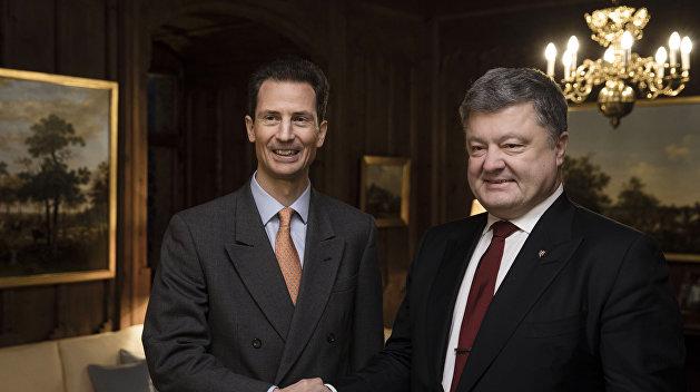 Порошенко отыскал параллель впомощи Лихтенштейна Украине 100 лет назад и внастоящее время