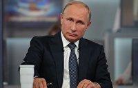 Путин  объяснил, почему Запад вводит санкции против России