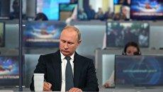 Путин в прямом эфире пообещал предоставить российское гражданство одесситке, пострадавшей в Сирии