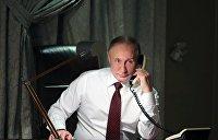 Путин призвал Порошенко немедленно освободить российских журналистов