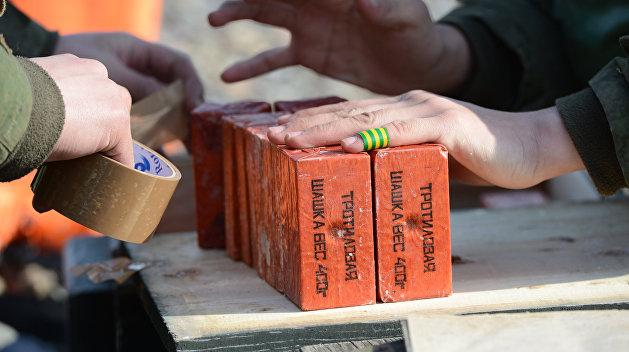 Взрывное устройство обнаружили на рынке в Херсонской области Украины